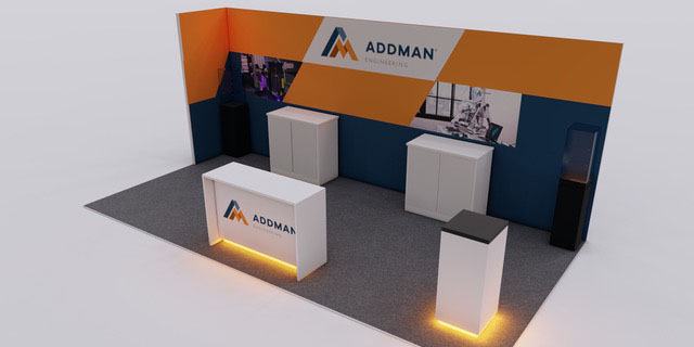 Graphic-Rendering-Phase-1-Addman-Tradeshow-booth